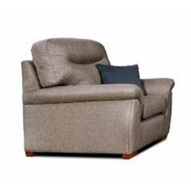 Rembrant  Rechargeble Powered Recliner - wood facings