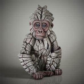 Edge Sculpture Baby gorilla Snow Flake