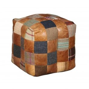 Winchester Patchwork Pouffe