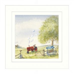 Artwork Red Tractor