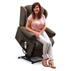 Ashford  Petite 1-motor Electric Riser Recliner - EXCLUDING VAT