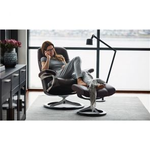Stressless Consul Fabric Signature Footstool