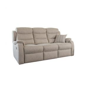 Michigan  Double Power Recliner 3 Seater Sofa with button switches