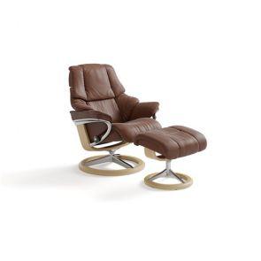 Stressless Reno Fabric Signature Medium  Chair