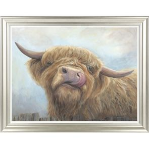 Canvases  Cheeky Highland Cow
