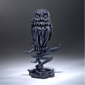 Edge Sculpture Owl Midnight