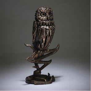 Edge Sculpture Owl Golden