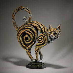 Edge Sculpture Cat Ginger