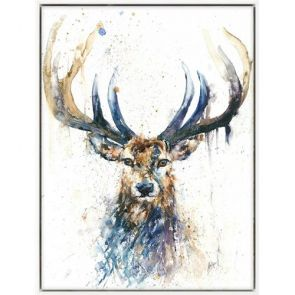 Canvases  Long Horn Stag