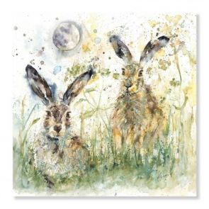 Canvases  Lunar Hares
