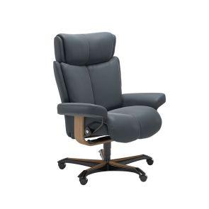 Stressless Magic Fabric Office Chair