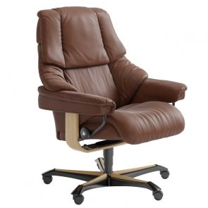 Stressless Reno Fabric Office Chair