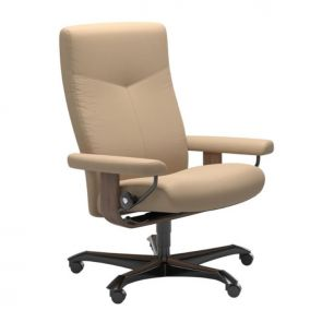 Stressless Dover Office Chair Medium - Fabric