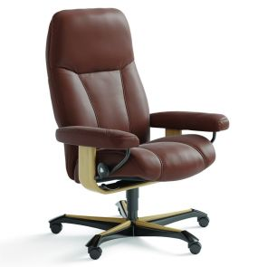 Stressless Consul Fabric Office Chair
