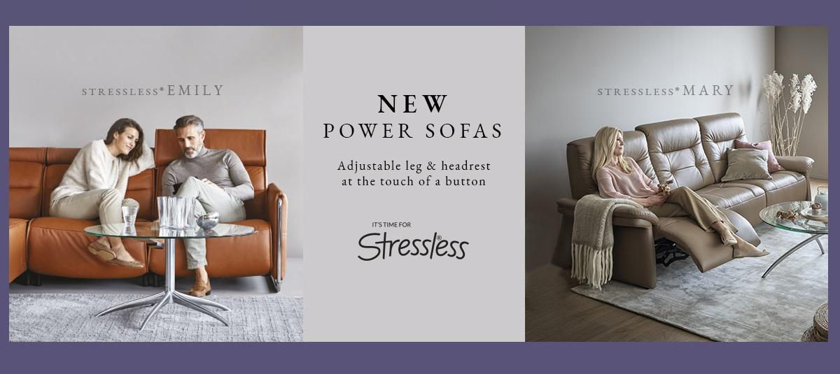 Power sofas