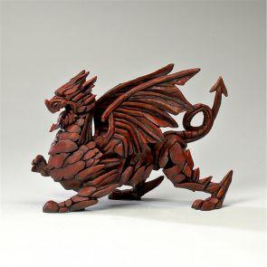 Edge Sculpture Dragon Red