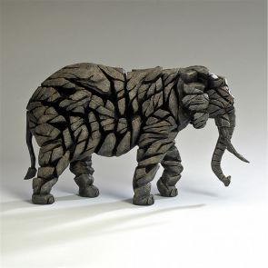 Edge Sculpture Elephant Mocha