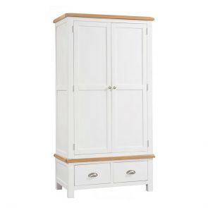 Hampshire Painted Double Robe with 2 Drawers