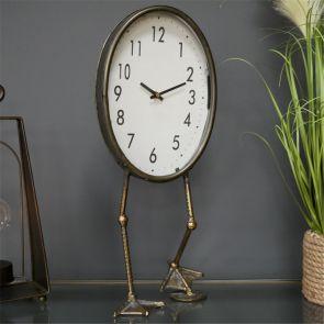 Industrial Bird Feet Clock