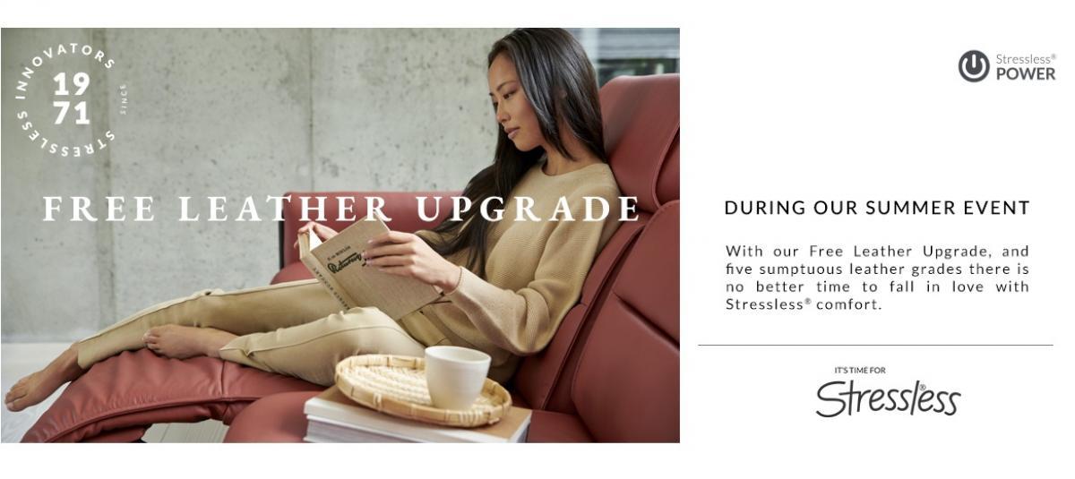 Free Leather Upgrade